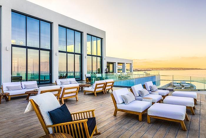 Bar im Glaspavillon - Abaton Island Resort & Spa
